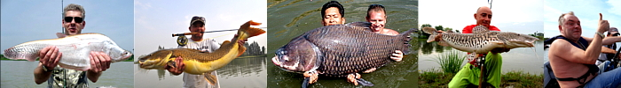 Photos of guided fishing in Bangkok