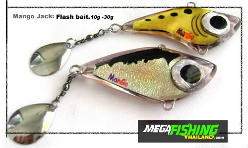 Mango Jack Flash bait fishing lure.